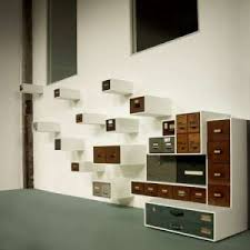 repurposed office furniture. Simple Repurposed This Ingenious Post From Trendhunter Showed Us A Whole New Way To Reuse Old  Desk Drawers Fixed The Wall Theyu0027re Just As Much Art Functional Storage With Repurposed Office Furniture I