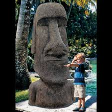 king moai massive easter island statue