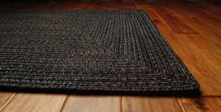 black outdurable outdoor rug by homee