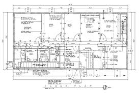 commercial building floor plans and elevations