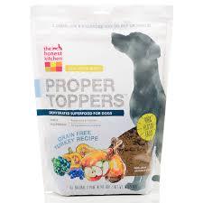 Honest Kitchen Proper Toppers Grain Free Turkey Dog Food Pouch - Honest kitchen dog food