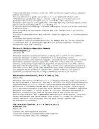 Machine Operator Resume Sample Machine Operator Resume Examples ...