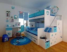 kids bunk bed with storage. Best Kids Bunk Bed With Under Stairs Storage Idea Feat Cool Round Rug In Blue White