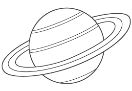 Small Picture Planet coloring pages saturn ColoringStar