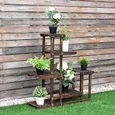 garden plant stand 6 tier wooden pot shoe rack display storage garden plant stand 6 tier
