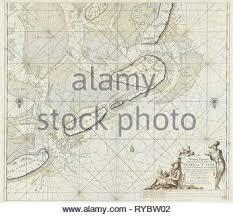 Sea Chart Of The Wadden Sea From Den Helder To Terschelling