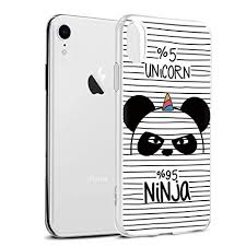 Yoedge Cover Iphone Xr Sottile Antiurto Custodia Trasparente Con