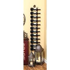 wall mounted metal wine rack. Wine Rack Wrought Iron Glass Corner Wall Mount With Regard To Racks Mounted Plan 19 Metal