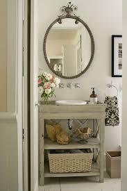 Great Gray Bathroom Vanity Cottage Bathroom Bhg Intended For Vintage