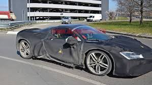 Making its debut 18 months after the sf90 stradale was unwrapped, the spider is ferrari's second hybrid convertible, following the 2017 laferrari aperta, and is claimed to offer the same record. Ferrari Sf90 Stradale Spider Spied Wearing A Bag Of Camouflage Autoblog