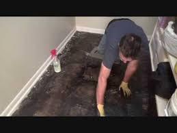 joe s first attempt on removing black tar floor mastic