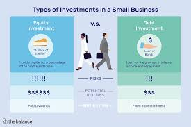 standard investment contract two types of investments in a small business