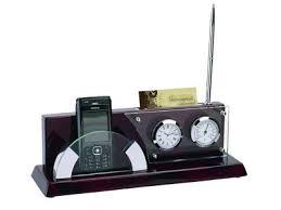 Купить «<b>Настольный прибор</b> «Фримонт»: <b>часы</b>, <b>термометр</b> ...