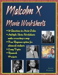 spike lee spike lee and movie malcolm x movie worksheets essay prompts and research projects