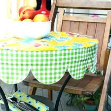 stay put elastic tablecloth round