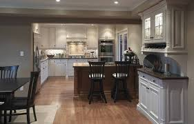 traditional open kitchen designs. Kitchen Design, Awesome White Rectangle Traditional Wooden Open Layouts Stained Ideas: Terrific Designs