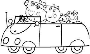 The Swine Coloring Pages For Kids And Peppa Pig Printable