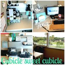 decorating office cubicle. Office Cubicle Ideas Medium Size Of In Good How To Decorate  . Decorating