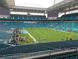 Sun Life Stadium Virtual Seating Chart Hard Rock Stadium View From Club Level 235 Vivid Seats