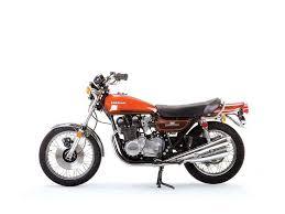 vintage kawasaki z1 motorcycle motorcyclist