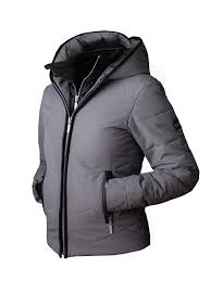 winter jacket double front