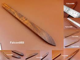 1pc leathercraft leather edge burnisher slicker sleeker polishing finishing tool