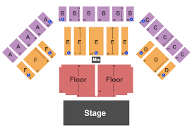 Timmons Arena Seating Charts For All 2019 Events