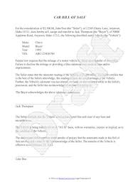 Legal Bill Of Sale Free Printable Free car bill of sale template Form (GENERIC)