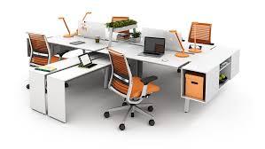 desks office desks and modern on pinterest bivi modular office furniture