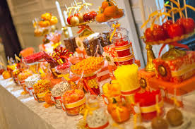 halloween wedding candy bar. Simple Candy Creating The Perfect Candy Buffet For Fall Intended Halloween Wedding Bar