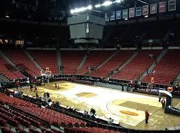 Thomas And Mack Center Seating Chart Mountain West Tourney Cut To Top 8 Seeds Will Remain In