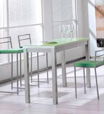 Table Gain De Place Modèle Musca Plateau En Verre 3 Dimensions