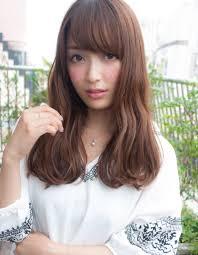 前髪可愛いゆるふわウェーブyo 46 ヘアカタログ髪型ヘア