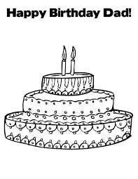 Small Picture Free Printable Happy Birthday Coloring Pages For Kids