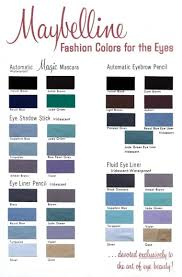 Skin Scope Color Chart Cosmetics And Skin Colour Cards