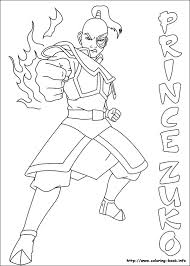 Small Picture Avatar the last airbender coloring pages on Coloring Bookinfo