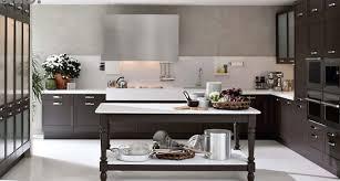 Small Dark Kitchen Design L Shaped Small Kitchen Design With Dark Brown Cabinet And Using