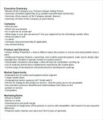 Executive Summary Sample For Proposal Executive Summary Template For Buness Proposal Business