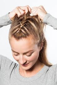 Self Hair Style the easy workout braid that will actually keep hair out of your 3171 by wearticles.com