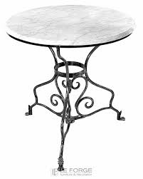 round outdoor metal table. Round Steel Table Marble Glass Outdoor French Provincial Le Forge Metal