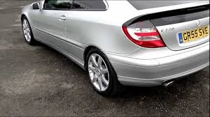 www.bennetscars.co.uk 2005 Mercedes C220 CDi Coupe SE 78K FSH ...