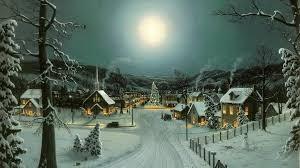 christmas town wallpaper. Brilliant Christmas Peaceful Christmas Village Wallpaper With Town E