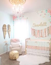 white fur rug nursery. inspiring baby nursery ideas pastel color nuance room wings wall decoration asymetric white fur rug golden sofa stool h