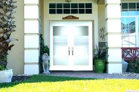gorgeous all glass front door decorating privacy ideas cover