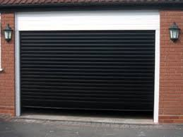 8x8 garage doorBlack Electric Garage Door 8X8  EASYGLIDE GARAGE DOORS
