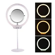 Ring Light Mirror Details About Usb Desktop Dimmable Led Ring Light With Mirror For Camera Smartphones Og011