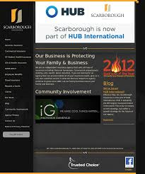 scarborough insurance website history