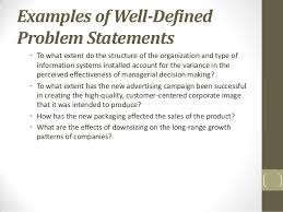 Research Problem Statement Chapter 3 The Research Process The Broad Problem Area And Defining