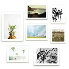 summer gallery walls with my favorite art prints from minted they have me dreaming of warm weather long days at the beach not that i need a vacation  on gallery wall art prints with a blessed nest gallery wall with minted