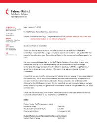 Clergy Compensation Gateway District Nccumc